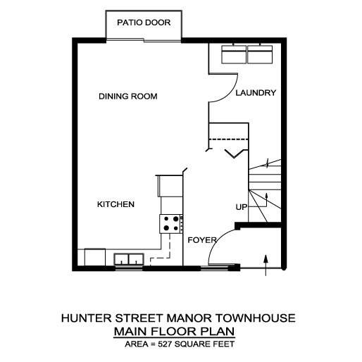 Hunter Street Townhouses West Locations A R C Management