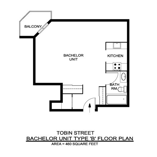 Skyline towers locations a r c management for Bachelor flat plans